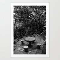 philosophy Art Prints featuring Philosophy by Robin S