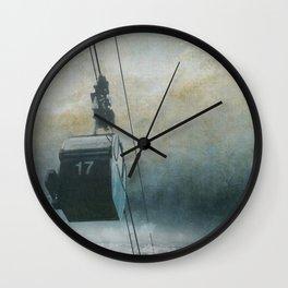 GONDOLA INTO THE SKY Wall Clock