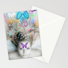 Colourful Dreams by Lesley Smitheringale Stationery Cards