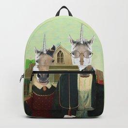 American Gothic Unicorn Backpack