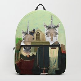 American Gothic Unicorn Backpack
