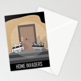 Home invaders Stationery Cards