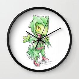 Turning a New Leaf Wall Clock