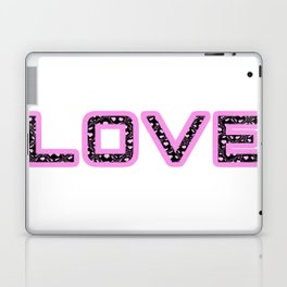 [Glittered Outline Effect Variant] Love's Simple Laptop & iPad Skin
