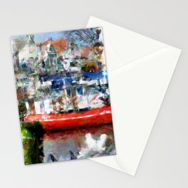 In the harbour Stationery Cards