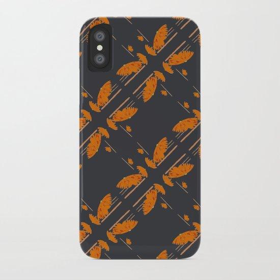 Orange chamomiles iPhone Case