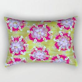 Magenta Calliope Rose Rectangular Pillow