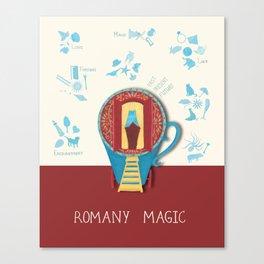 Romany Magic Canvas Print