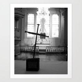 St. George's Cross Art Print