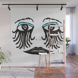Gothic Face Wall Mural