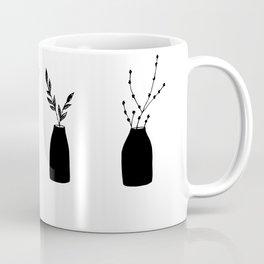 Minimalistic vases Coffee Mug
