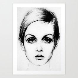 60's Eyelashes Kunstdrucke