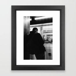 Subway Life Framed Art Print