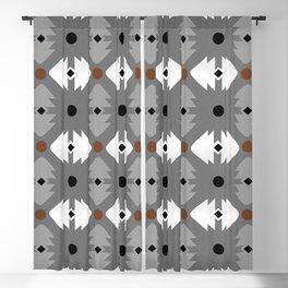Modern Desert Fox Southwest Pattern Blackout Curtain