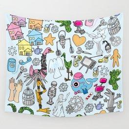 Edward Scissorwings Wall Tapestry