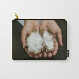 Wild Cotton Carry-All Pouch