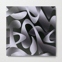 The Unknown Steel Metal Print
