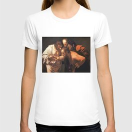 The Incredulity of Saint Thomas by Caravaggio (1602) T-shirt