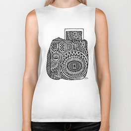 Zentangle - Polaroid  Biker Tank