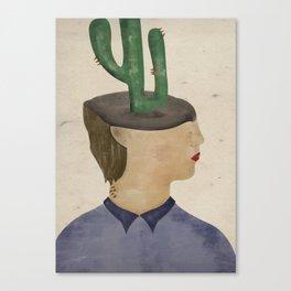 Deserted head Canvas Print