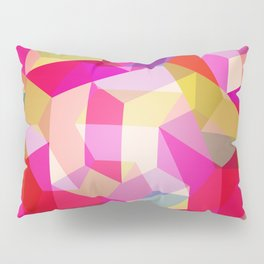 Colourful Twisted rectangles Pillow Sham