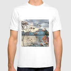 Recife - I Mens Fitted Tee MEDIUM White