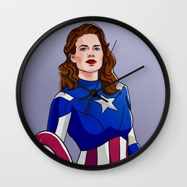 Peggy Cap Wall Clock