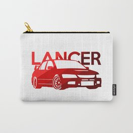 Mitsubishi Lancer Evo - classic red - Carry-All Pouch