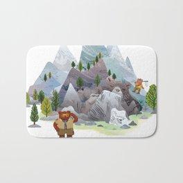 Bear troop Bath Mat