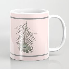Feather Style Coffee Mug