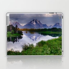 Mt. Moran at Oxbow Bend Laptop & iPad Skin