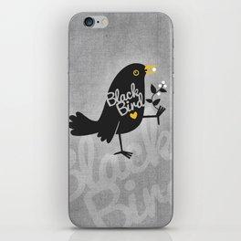 BlackBird iPhone Skin