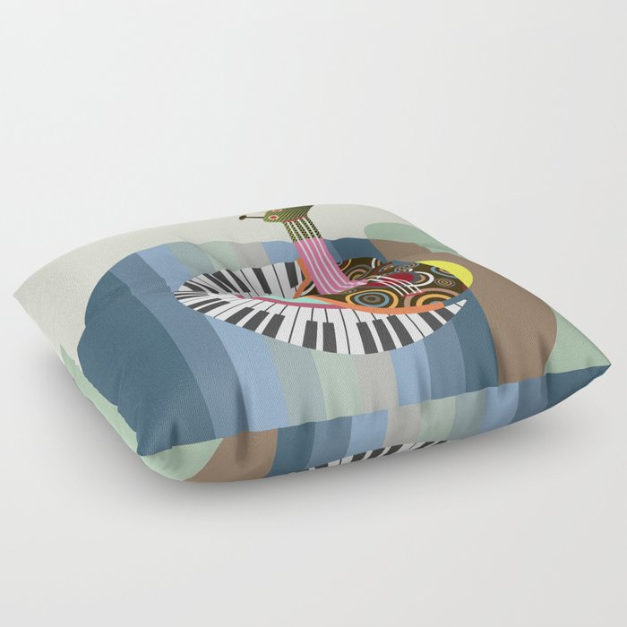 Music Theory II Floor Pillow