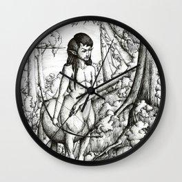 Centaur hunter Wall Clock