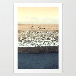 Ocean Dream III Art Print