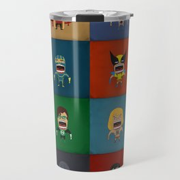 Screaming Heroes Travel Mug