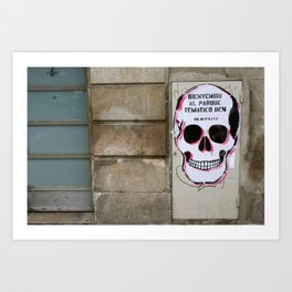 Street Art in Spain Art Print
