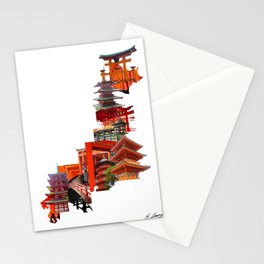 Structures That Shpaed Japan Stationery Cards
