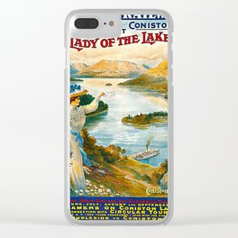 Furness Railway and Lady of the Lake Clear iPhone Case