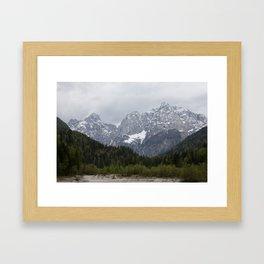 Kranjska Gora Framed Art Print