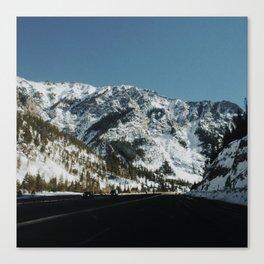 Road Outside of Denver Canvas Print