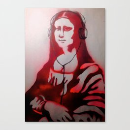 Mona Dear Mona Canvas Print