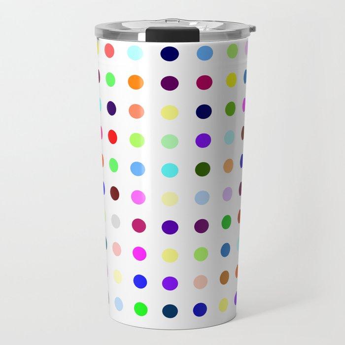 Big Hirst Polka Dot Travel Mug