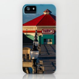 Ruby's on the Pier iPhone Case