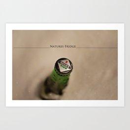 Natures Fridge Art Print