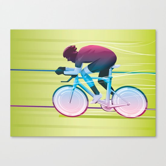 Time Trial Canvas Print