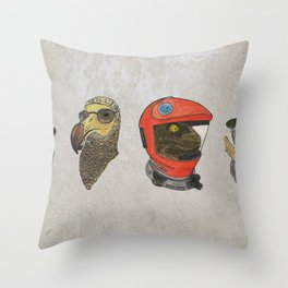 A Tribute To Stanley Kubrick Throw Pillow