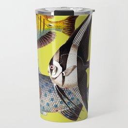 Fish World yellow Travel Mug