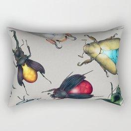 Colorful Mineral Beetles Rectangular Pillow