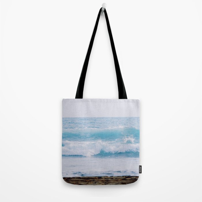Pastel Ocean #waves Tote Bag